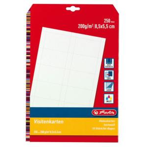 Visitenkartenpapier