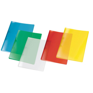 VELOFLEX Ringbuch PROPYGLASS - DIN A4 - PP - sortiert