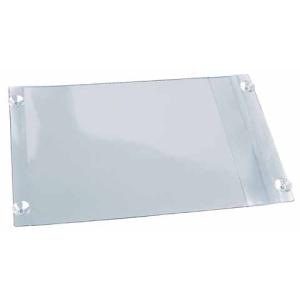 VELOFLEX Infopocket - Aushangbeutel - 230 x 350 mm - PVC - glasklar
