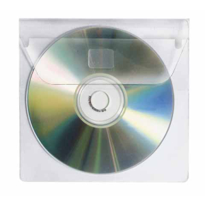 VELOFLEX CD-DVD Hülle - PP - selbstklebend -...