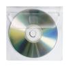 VELOFLEX CD-DVD Hülle - PP - selbstklebend - glasklar - 100 Stück