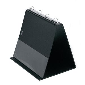 VELOFLEX Tischflipchart - DIN A4 quer - PVC - schwarz