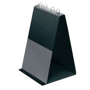 VELOFLEX Tischflipchart - DIN A4 - PVC - 3,5 cm - schwarz