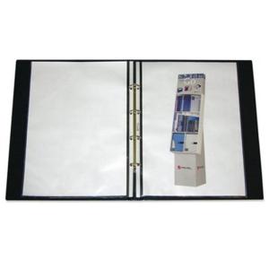 VELOFLEX Ringbuch Exclusiv - DIN A3 - PVC - 3 cm - schwarz
