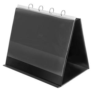 VELOFLEX Tischflipchart - DIN A3 quer - PVC - schwarz