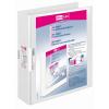 VELOFLEX Präsentationsringbuch VELODUR - DIN A4 - PP - 4 cm - weiß