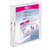 VELOFLEX Präsentationsringbuch VELODUR - DIN A4 - PP - 1,6 cm - weiß