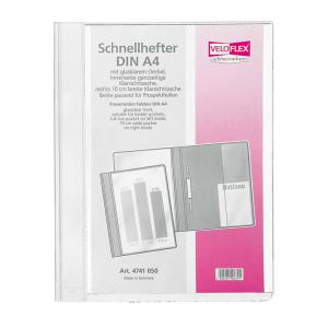 VELOFLEX Schnellhefter VELOFORM - DIN A4 - PVC - weiß