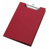 VELOFLEX Clipboard - DIN A4 - PVC - max. 100 Blatt - rot