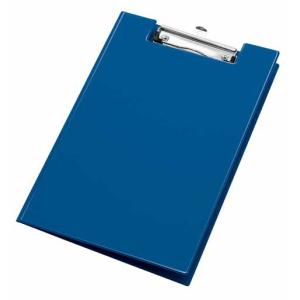 VELOFLEX Clipboard - DIN A4 - PVC - max. 100 Blatt - blau