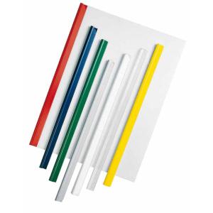 VELOFLEX Klemmschiene - DIN A4 - PVC - max. 60 Blatt - transparent - 100 Stück