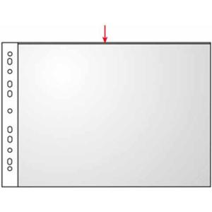 VELOFLEX Prospekthüllen - DIN A3 quer - PP - glasklar - 100 Stück