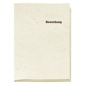 VELOFLEX Bewerbungsmappe - DIN A4 - Karton - 3-teilig -...