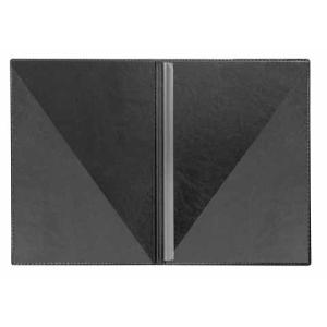 VELOFLEX Bewerbungsmappe Exquisit - DIN A4 - PVC - schwarz