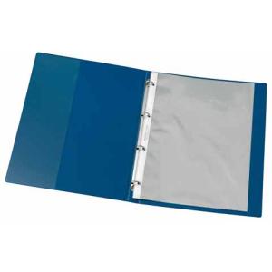 VELOFLEX Ringbuch Zeugnisse - DIN A4 - PVC - 1,6 cm - blau