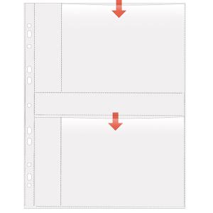 VELOFLEX Fotohüllen - DIN A4 - 13 x 18 cm quer - PP...