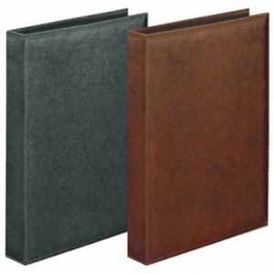 VELOFLEX Ringbuch Exquisit - DIN A4 - PVC - 1,5 cm - braun