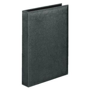 VELOFLEX Ringbuch Exquisit - DIN A4 - PVC - 2,5 cm - schwarz