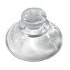 VELOFLEX Saugnäpfe - 20 mm - für Sichttaschen - glasklar - 10 Stück