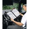 VELOFLEX Clipboard Tacho Komfort - DIN A4 - PVC - max. 100 Blatt - schwarz