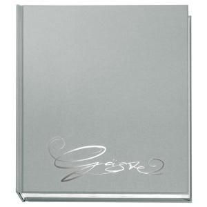 VELOFLEX Gästebuch - 205 x 240 mm - 144 Seiten - silber