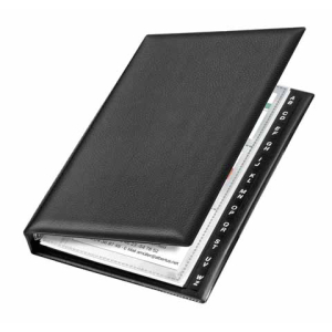 VELOFLEX Visitenkartenringbuch - DIN A5 - PVC - für...