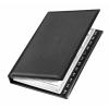 VELOFLEX Visitenkartenringbuch - DIN A5 - PVC - für 150 Karten - schwarz