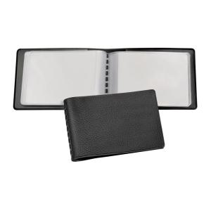 VELOFLEX Kreditkartenmappe - 110 x 76 mm - PVC - schwarz