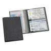 VELOFLEX Ausweishüllenmappe - 130 x 95 mm - PVC - 8 Taschen - schwarz