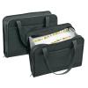 VELOFLEX Fächertasche Office - DIN A4 - Textil - 24 Fächer - Reißverschluss - schwarz