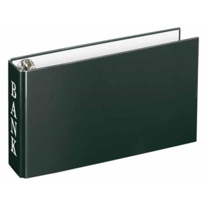 VELOFLEX Bankordner - DIN A6 - PP - schwarz