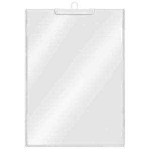 VELOFLEX Plakattasche - DIN A4 hoch - transparent