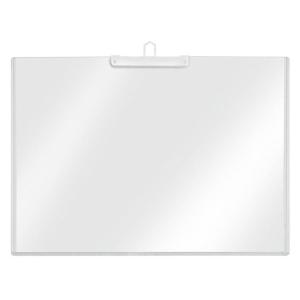VELOFLEX Plakattasche - DIN A4 quer - PVC - transparent