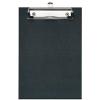 VELOFLEX Schreibplatte - DIN A5 - PP - max. 100 Blatt - schwarz
