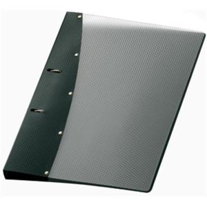 VELOFLEX Ringbuch DIAMOND - DIN A4 - PP - 2 cm - schwarz
