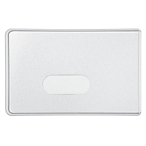 VELOFLEX Scheckkartenhülle - 90 x 58 mm - Kunststoff...