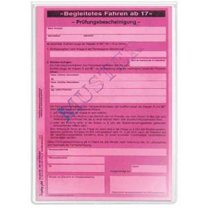 VELOFLEX Ausweishülle - DIN A5 - PP - glasklar