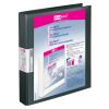 VELOFLEX Präsentationsringbuch VELODUR - DIN A4 - PP - 2,5 cm - schwarz