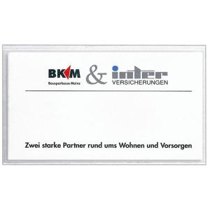 VELOFLEX VELOCOLL Visitenkartentaschen - 101 x 57 mm - PP...