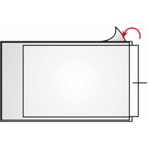 VELOFLEX VELOCOLL Beschriftungsfenster - 105 x 148 mm -...