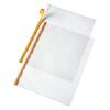 VELOFLEX VELOCOLL Prospekthüllen - DIN A4 - PP - selbstklebend - glasklar - 10 Stück
