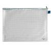 VELOFLEX Reißverschlusstasche - DIN A3 - PVC - transparent