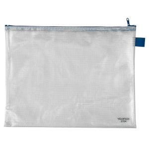 VELOFLEX Reißverschlusstasche - DIN A4 - PVC -...