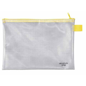 VELOFLEX Reißverschlusstasche - DIN A5 - PVC -...