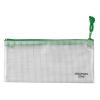 VELOFLEX Reißverschlusstasche - DIN A6 - PVC - transparent