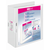 VELOFLEX Präsentationsringbuch VELODUR - DIN A4 - PP - 6 cm - weiß