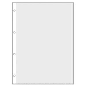 VELOFLEX Prospekthüllen - DIN A4 - PP - glasklar - 100 Stück