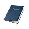 VELOFELX Zeugnismappe - DIN A4 - PVC - 10 Hüllen - blau