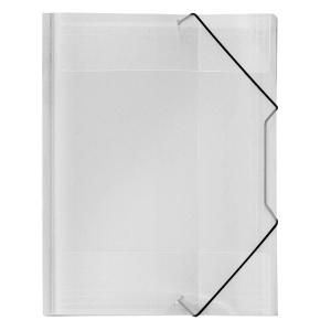 VELOFLEX Eckspanner Crystal - DIN A4 - PP - farblos