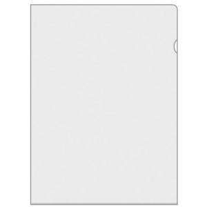 VELOFLEX Aktenhüllen - DIN A4 - matt transparent -...
